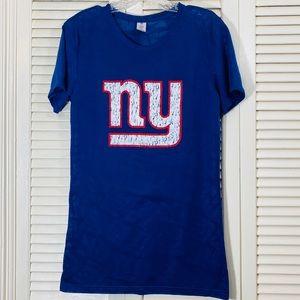 Reebok NFL NY Giants Burnout Tee